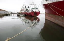 Fishing ships Royalty Free Stock Image