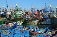 Fishing ships Royalty Free Stock Images