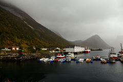 Fishing ships Royalty Free Stock Photo