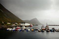 Fishing ships Stock Image