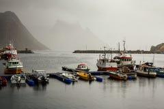 Fishing ships Stock Photography
