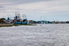 Fishing ships Royalty Free Stock Photography