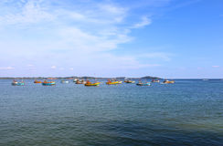 Fishing ships, Sri Lanka Royalty Free Stock Image