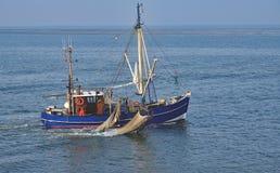 Shrimp Boat,North Sea,Germany Stock Photography