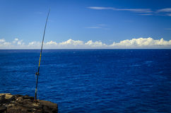 Fishing South Point Park Stock Photography