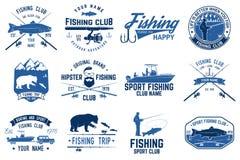 Fishing sport club. Vector illustration. vector illustration