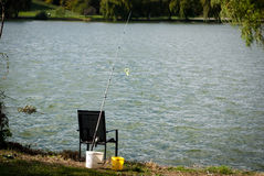 Fishing spot Stock Photography
