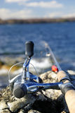 Fishing spring time Royalty Free Stock Image