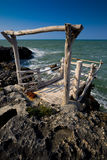 Fishing station Puglia Italy Royalty Free Stock Images
