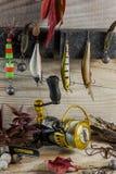 Fishing still life royalty free stock photography