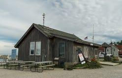 Fishing store in Fishtown - Leland, Michigan Royalty Free Stock Photos