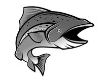Fishing symbol Royalty Free Stock Photography