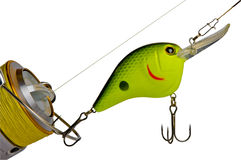 Fishing tackle Royalty Free Stock Photos