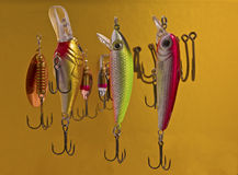 Fishing tackle Stock Images