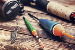 Fishing tackle Royalty Free Stock Images