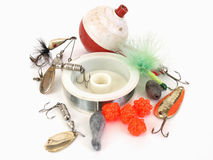 Fishing Tackle Royalty Free Stock Photography