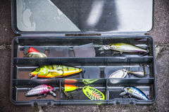 Fishing tackle Royalty Free Stock Image