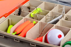 Fishing Tackle Box Royalty Free Stock Photo