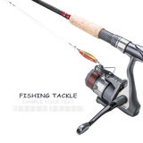 Fishing tackle isolated Stock Photos