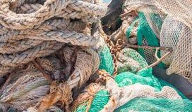 Fishing tackle marine Stock Photo