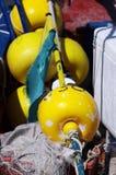 Fishing tackle nets longliner trawler trammel Royalty Free Stock Photos