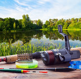 Fishing tackle Stock Image