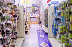 Fishing tackle supplies store shop Royalty Free Stock Images