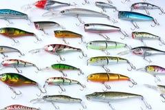 Fishing tackles stock photo
