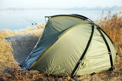Fishing tent Stock Photography