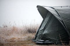 Fishing tent Stock Images