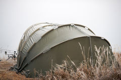 Fishing tent Stock Image