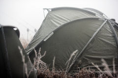 Fishing tent Royalty Free Stock Photo
