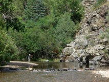 Fishing The Pecos Royalty Free Stock Photography