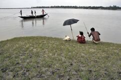 fishing time at matla river canning south 24 pargana west bengal india