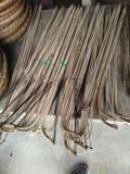 Fishing tool made of bamboo Stock Photos