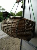 Fishing tool made of bamboo Stock Images