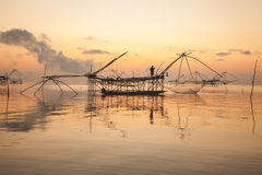 Fishing Tool. Traditional fishing tool in southern Thailand Royalty Free Stock Image