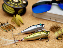 Fishing Tools Stock Photo