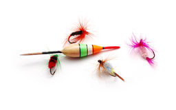 Fishing tools Royalty Free Stock Photography