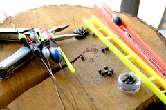 Fishing tools. Stock Images