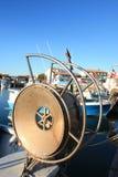 Fishing tools of Saintes Maries de la Mer Stock Photo