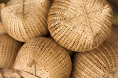 Fishing Tools. Workmanship, Made from bamboo, tool Stock Photo