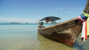 Fishing / Tourist Boat in Thailand Royalty Free Stock Images