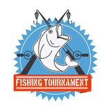 Fishing tournament Royalty Free Stock Photography