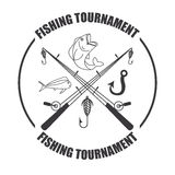 Fishing tournament Stock Images
