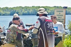 Fishing tournament  2015 in long island new york Stock Images