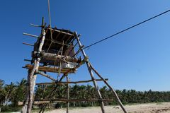Fishing Tower Stock Photography