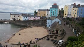 Fishing Town Wales. Tenby, Wales...a beautiful little seaside town Royalty Free Stock Photography