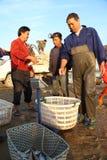 Fishing trader Stock Image