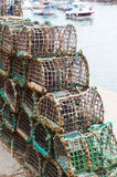 Fishing traps Stock Images